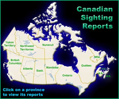 Map Of Sasquatch Sightings In Canada BFRO Geographical Database of Bigfoot Sightings & Reports